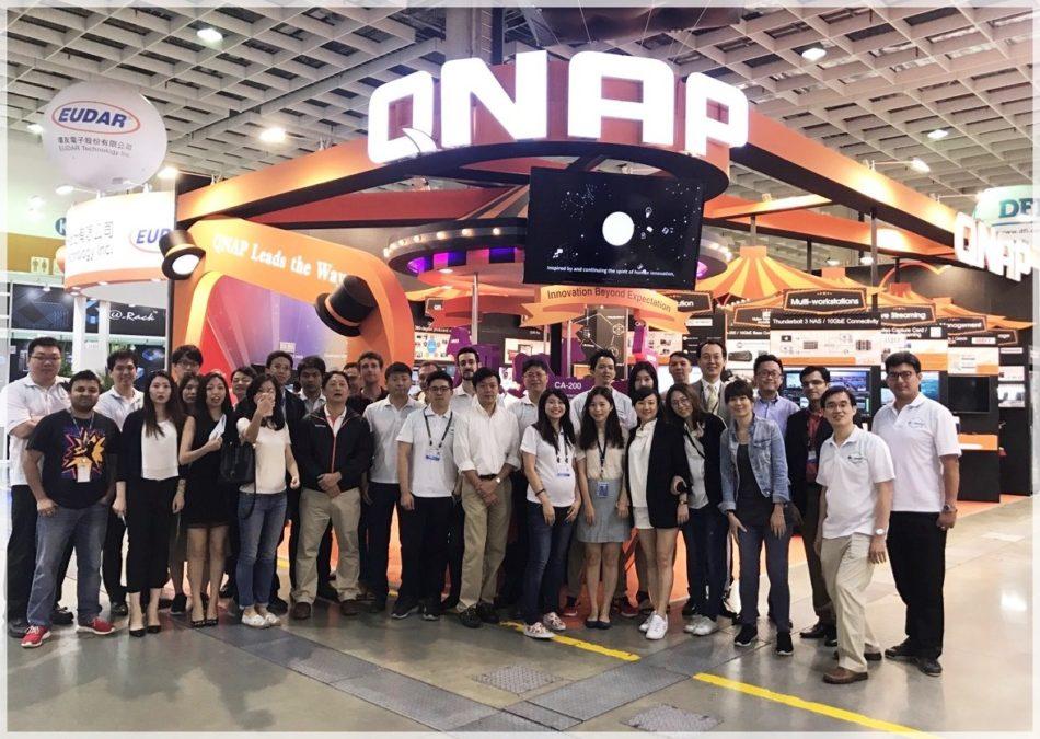 Computex 2017: QNAP presenta la transmisión de vídeo en directo, tecnología QIoT y soluciones NAS optimizadas
