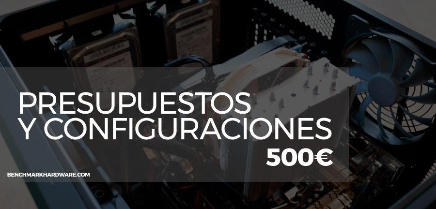 Presupuesto PC Gaming 500€ – Marzo 2018