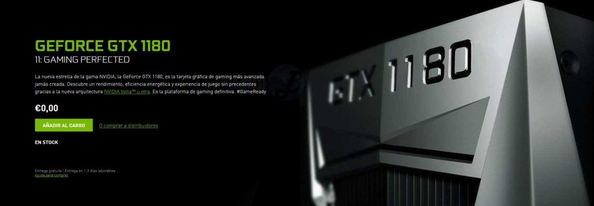 Lenovo confirma la NVIDIA GTX 1180