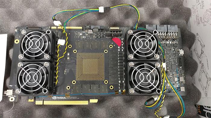 Filtradas fotos de grafica NVIDIA con GDDR6