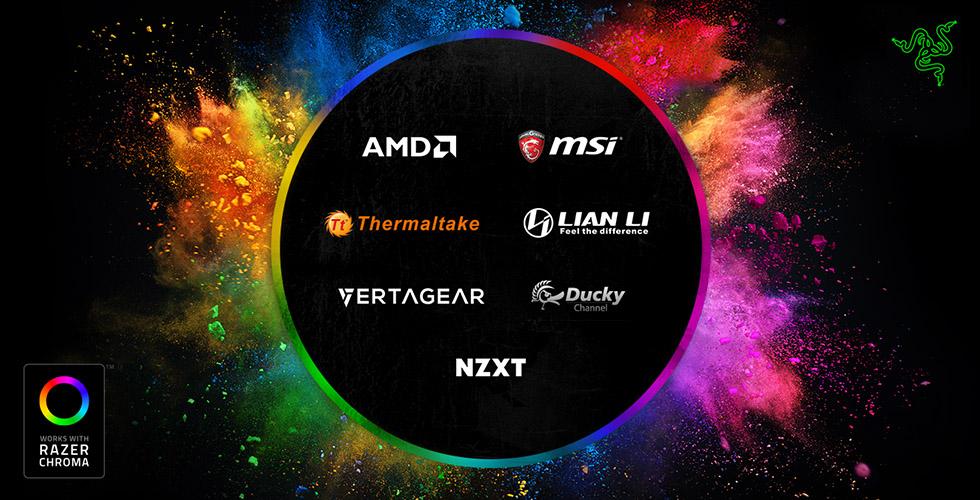 Computex 2018 – Razer Chroma llega a dispositivos de otras marcas