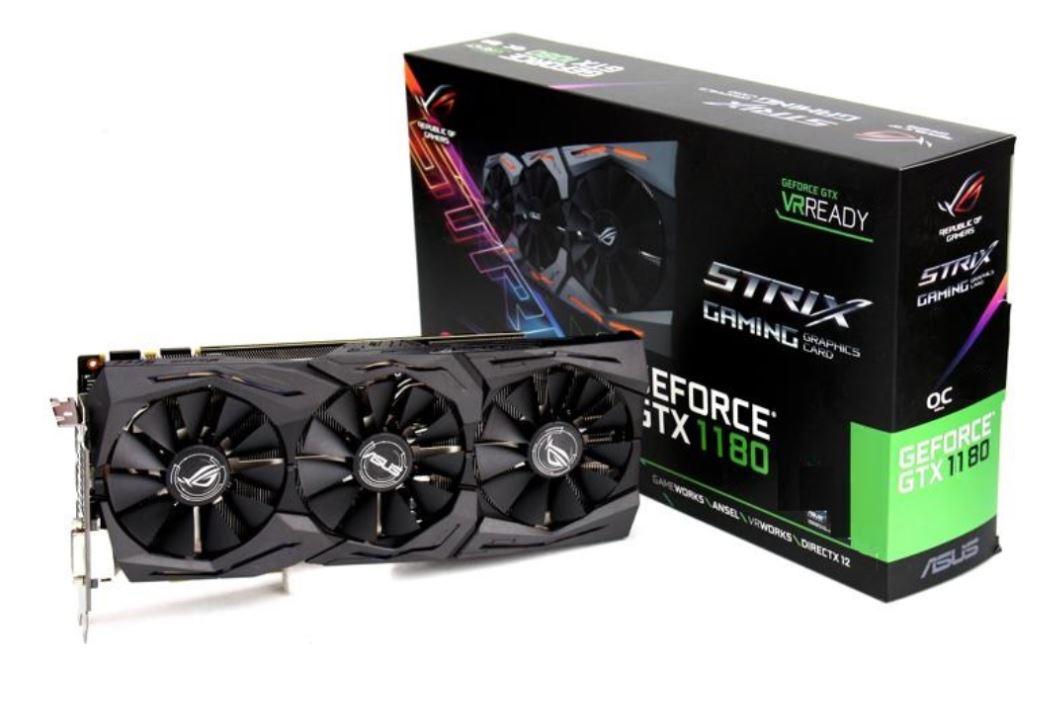 Primeras imágenes y especificaciones de la NVIDIA GTX 1180