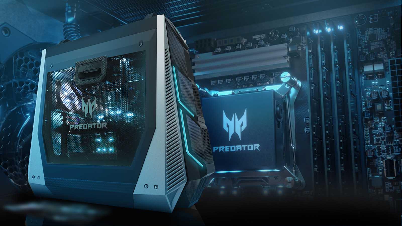 Predator Orion incorpora los nuevos procesadores Intel Core de 9ª Generación