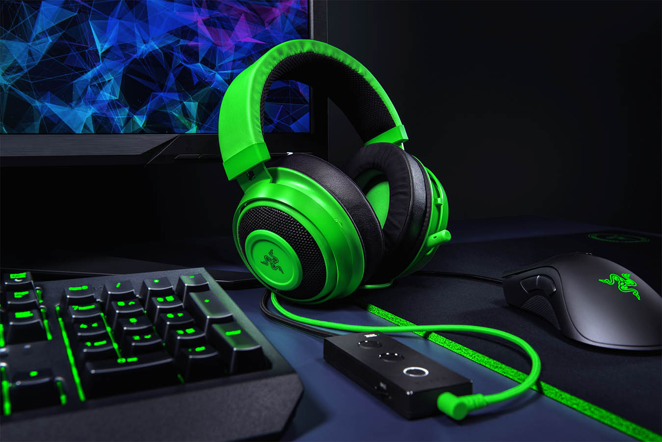 Razer pesenta los nuevos Kraken Tournament Edition, BlackWidow Elite y Mamba Wireless