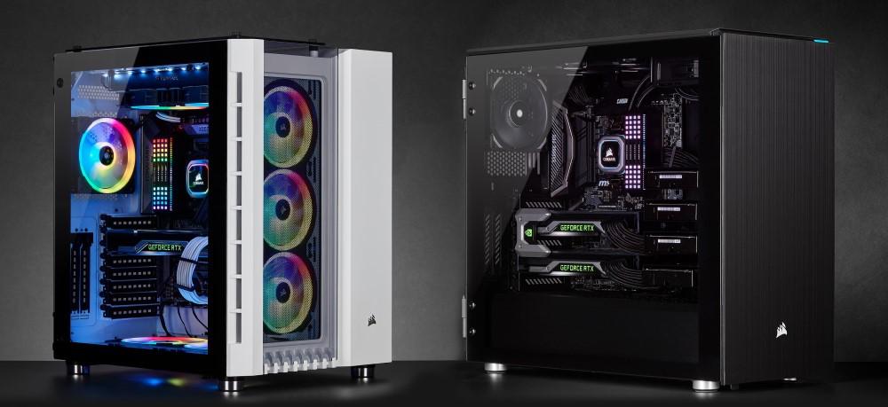 CORSAIR anuncia sus nuevos chasis Crystal 680X RGB y Carbide Series 678C