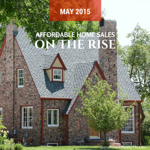 affordable home sales on the rise- Benchmark Realty TN