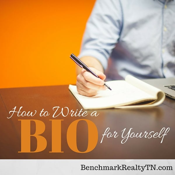 How to write a Realtor Bio- Benchmark Realty