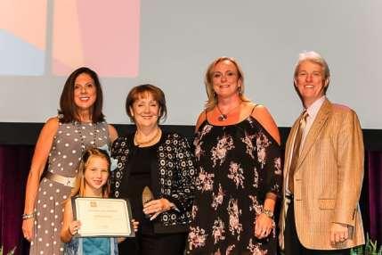 volunteer spirit award recognition Photo by Brandy Blanton- Southern Exposure Magazine