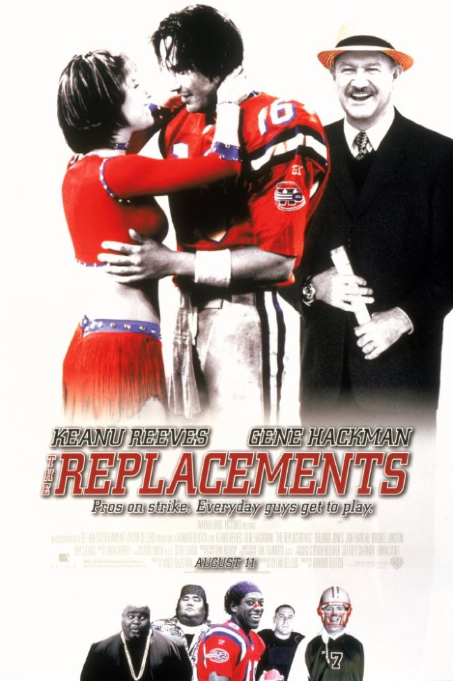 The Replacements Movie Poster