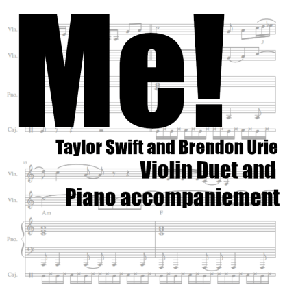 Me! by Taylor Swift and Brendon Urie
