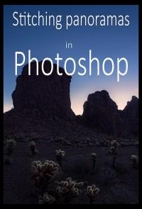 Stitching panoramas in Photoshop