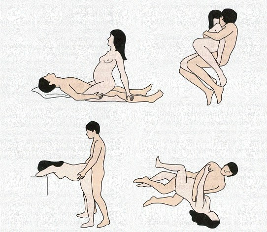 Best sexual positions when pregnant