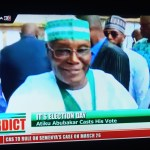 Atiku Votes, Says He Looks Forward To A Successful Transition