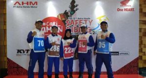 Astra Honda Motor Gelar Safety Riding Instructors Competition (AH-SRIC) 2019