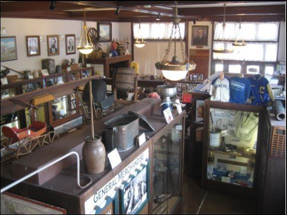 View of the Bowman Museum in Prineville Oregon