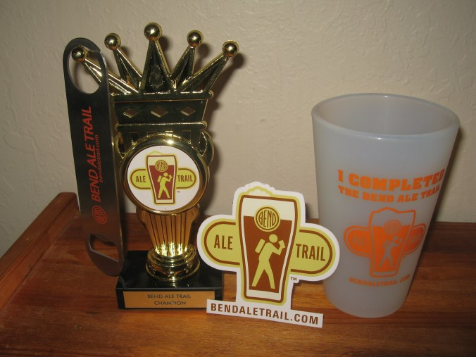 Prizes you may win for completing the Ale Trail by sampling local beer