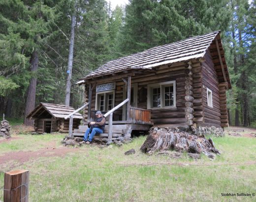 Cabin at Fish Lake Remount Station