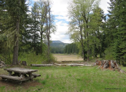 Santiam Wagon Road in Oregon - Fish Lake