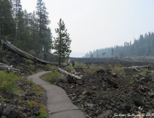 Trails at Newberry National Volcanic Monument, Oregon