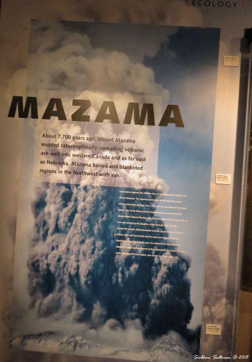 Eruption of Mount Mazama