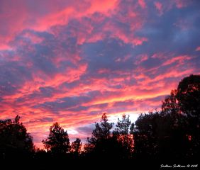 Brilliant Sunset in Bend