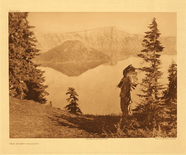Chief – Klamath by Edward S. Curtis. 1923.