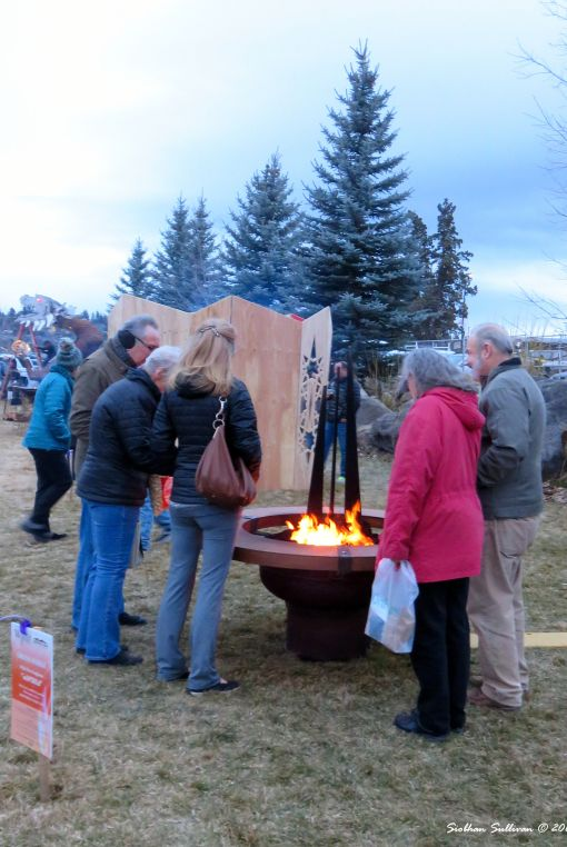 Fire pit competition WinterFest