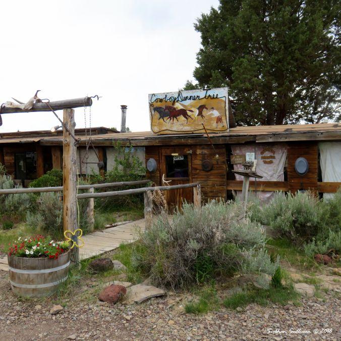 Cowboy Dinner Tree restaurant, Silver Lake, Oregon