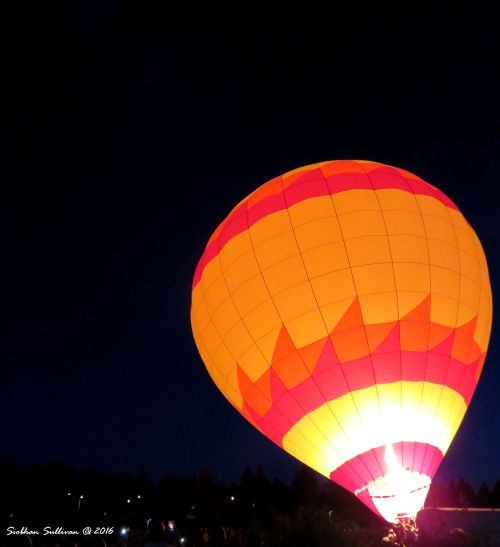 Night Glowballoons in Bend, OR 22 July 2016