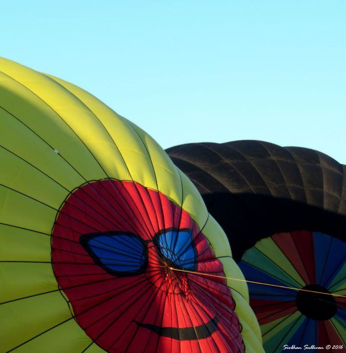 Hot air balloons in Bend, OR 23 July 2016