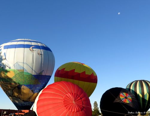 Hot air extraordinaire Multiple balloons in Bend, OR 23 July 2016