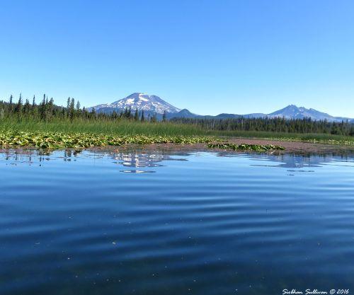 Hosmer Lake views, Oregon