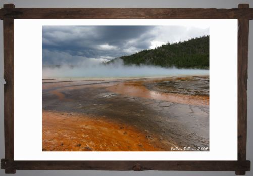 Parks as works of art - Yellowstone National Park, Wyoming