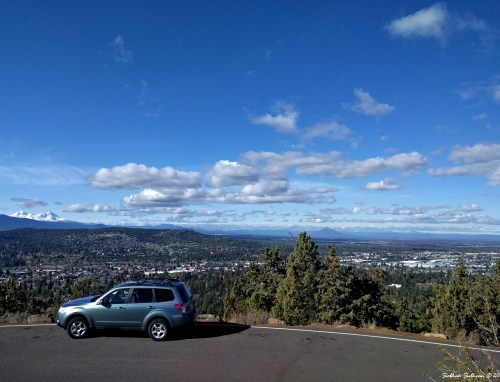Pilot Butte views to North & West October 2016