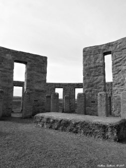 Stonehenge Memorial near Maryhill,WA