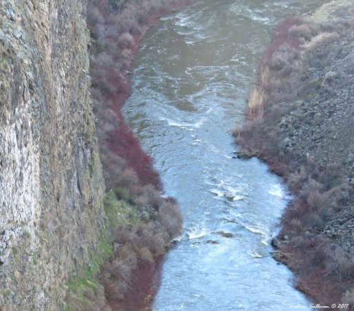 Crooked River at Peter Skene Ogden Scenic Viewpoint 3Apr2017