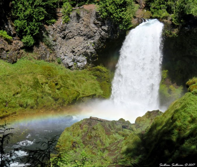 Sahalie Falls, Oregon 30Aug2016