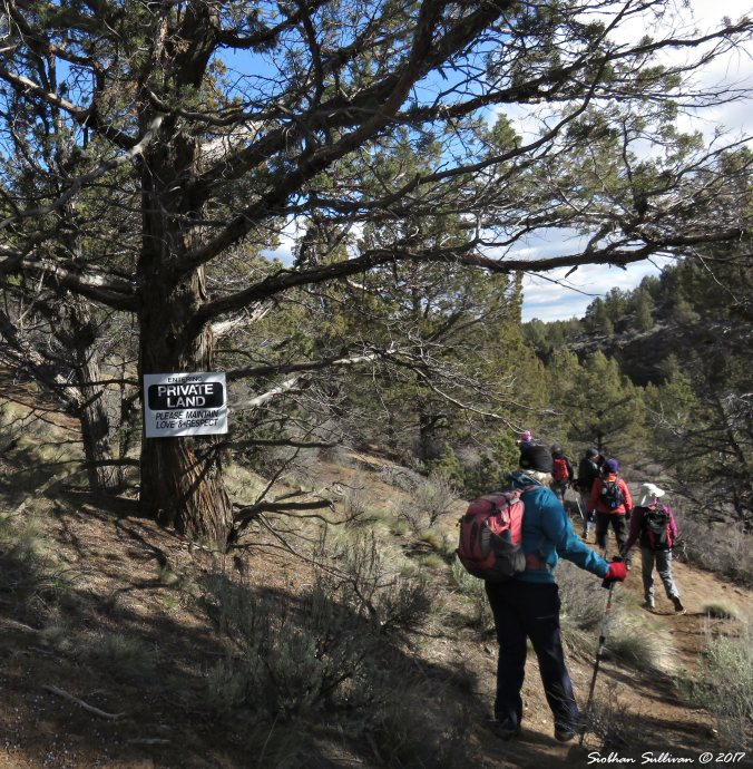 Tumalo Reservoir hike 10Apr2017