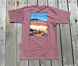 CanyonlandsNPk T-shirt May2017
