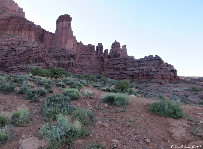 Westworld, Fisher Towers near Moab, Utah 3May2017