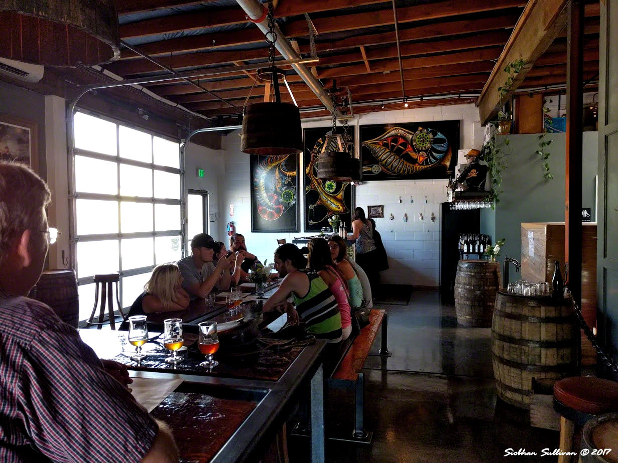 Ale Apothecary Tasting Room, Bend, Oregon 31August2017