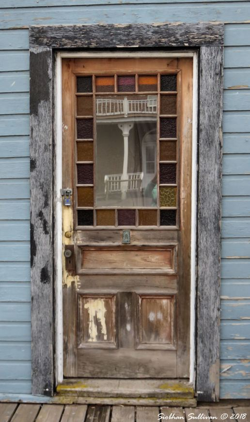 The Watcher Within doors at Shaniko, Oregon 16May2018