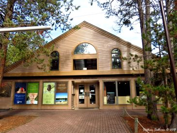 Visiting Sunriver Nature Center 8 21October2016