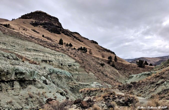 Blue Basin hike, John Day Fossil Beds National Monument, Oregon 26October2018
