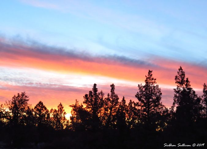 Clouds in Bend, Oregon 25January2016