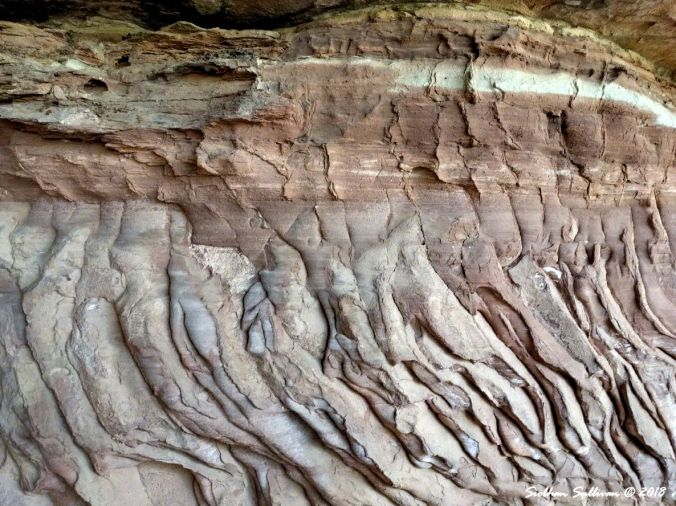 Patterns at  Canyonlands NPk 5May2017