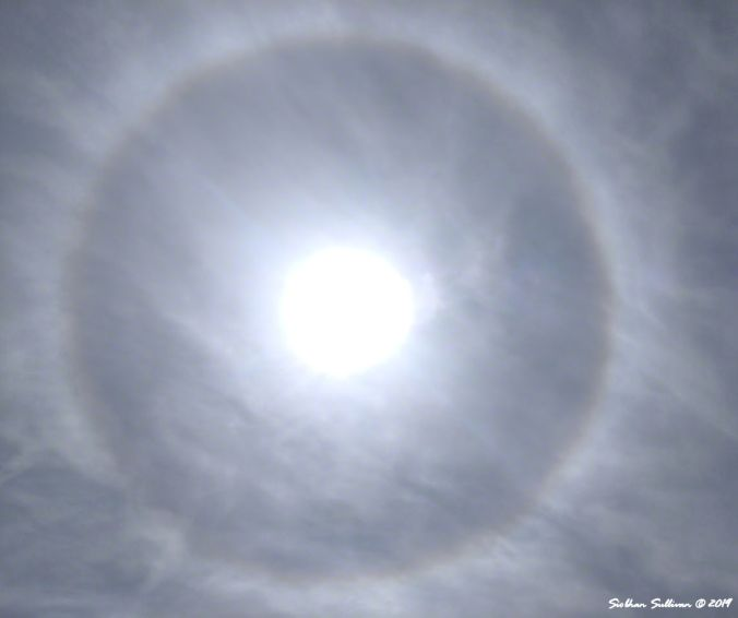 22 Degree halo 18April2019