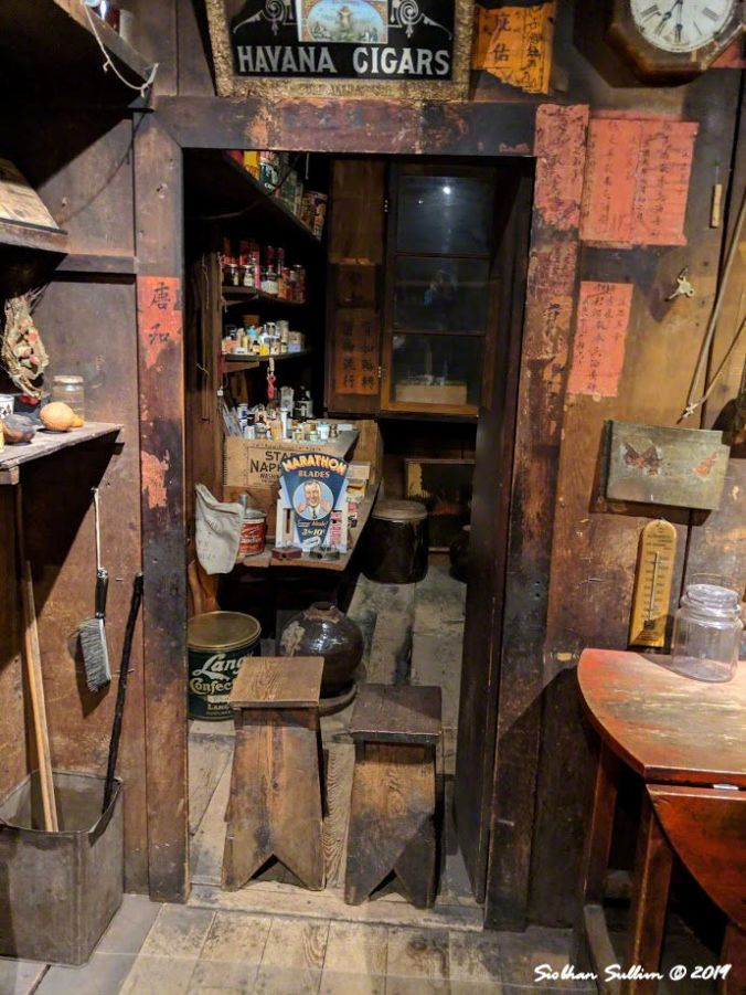 The storage room at Kam Wah Chung, John Day, OR 26October2018