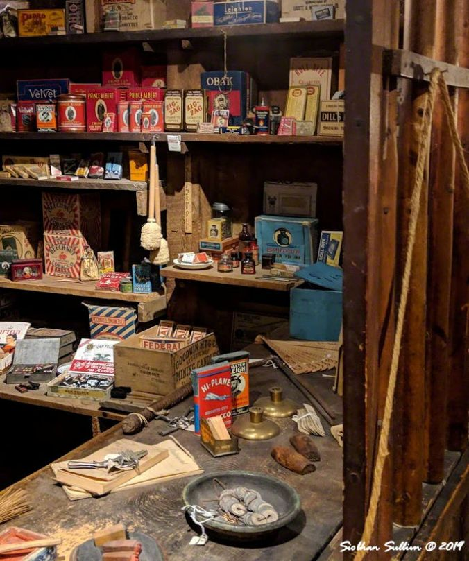 Products in the store John Day, OR 26October2018