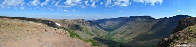 Kiger Gorge Panorama 29August2019